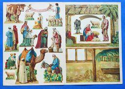 Gioco Vintage - Costruzione Presepe - Presepio Sagdos Off. Grafiche - 1943 - Giocattoli Antichi