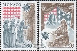 Monaco 1526-1527 (complète.Edition.) Neuf Avec Gomme Originale 1982 Histor.Evénements - Monaco