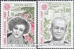 Monaco 1421-1422 (complète.Edition.) Neuf Avec Gomme Originale 1980 Personnalités - Monaco
