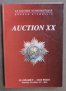 Catalogo Asta Decorazioni Medaglie - La Galerie Numismatique Auction XX - 2013 - Libri & Software