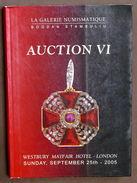 Catalogo Asta Decorazioni Medaglie - La Galerie Numismatique Auction VI - 2005 - Libros & Software
