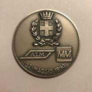 MEDAGLIA METROPOLITANA MILANESE 1990 - Professionals/Firms