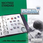 Schaubek 817N92N Supplement Andorra, French Post 1992 Standard - Albums & Binders