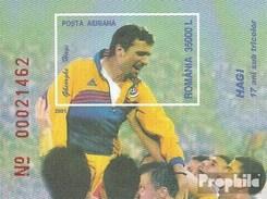 Rumänien Block317 (completa Edizione) Non Usato 2001 Georghe Hagi - Nuevos
