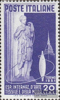 Italy 832 (complete Issue) Unmounted Mint / Never Hinged 1951 Textilausstellung - 6. 1946-.. Republik