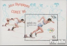 Laos Block115 (complete Issue) Unmounted Mint / Never Hinged 1987 Olympics Summer '88 - Laos