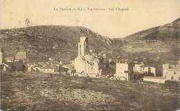 """.CPA  FRANCE 06  """"La Turbie, Vue Générale, Tour D'Auguste"""" - La Turbie"""