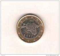 ESTONIE 2011 /  1 Pièce De 1 EURO De Circulation (1ère Année De Ce Pays Dans L'U.E. / ( Tirage Faible) - Estonie