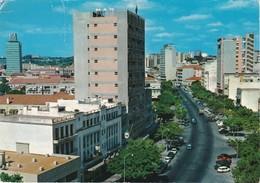 POSTCARD AFRICA - ANGOLA - LUANDA To VILA PRAIA D'ANCORA  PORTUGAL - MINERAL STAMP - Angola