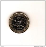 LITUANIE 2015 1 Euro De Circulation Très Peu Circulé / Brillant D'origine - Litauen