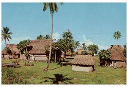 (PF 695) Fiji - Traditional Village - Fidji