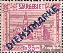 Saar D14II Fine Used / Cancelled Landscapes - 1920-35 League Of Nations