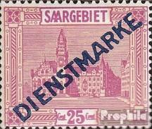 Saar D14II Fine Used / Cancelled Landscapes - 1920-35 Saargebiet – Abstimmungsgebiet
