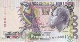 Sao Tome E Principe Pick-no: 65d  2013 5.000 Dobras - Sao Tomé Et Principe