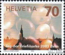 Suisse 1859 (complète.Edition.) Oblitéré 2003 Jour Le Timbre - Schweiz