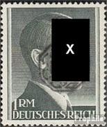 Löbau (Saxe) 22B Nd Réimpression Authenticité Pas Testés Avec Charnière 1945 Local Surcharge - [7] Repubblica Federale