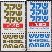 Israel 874,879 Mit Tab (kompl.Ausg.) Postfrisch 1982 Schekel - Israel