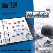 Schaubek 860/1T04B Set Of Leaves Europe-Union 2005-2009 Brillant - Albums & Binders