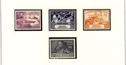 MALAYA - TRENGGANU - UPU 1949  #49 - 52  MNH - Trengganu