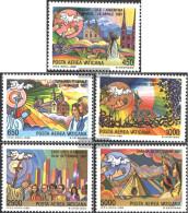 Vatikanstadt 952-956 (complete Issue) Unmounted Mint / Never Hinged 1988 Pope Travels - Vatican