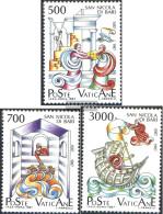 Vatikanstadt 934-936 (complete Issue) Unmounted Mint / Never Hinged 1987 Holy Nikolaus - Vatican