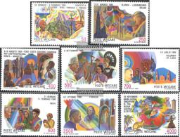 Vatikanstadt 926-933 (complete Issue) Unmounted Mint / Never Hinged 1987 Pope Travels - Vatican
