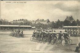RENNES - Fête Des Fleurs 1907 -- 1 Vélousel        -- R R - Rennes