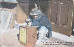 Chinese Street Jeweler San Francisco 1918  (o) - 1912-1949 Republic