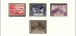 MAURITIUS  UPU  1949 #231 - 234 MNH - Mauritius (...-1967)