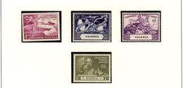 NIGERIA  UPU  1949 #75 - 78 MNH - Nigeria (...-1960)