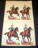 Marca Stella Foglio N° 5 Carabinieri Esercito  1930 - Giocattoli Antichi