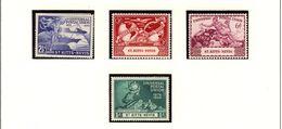 ST. KITTS-NEVIS Isl. UPU 1949 #95 - 98 MNH - St.Christopher-Nevis & Anguilla (...-1980)