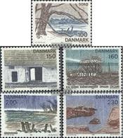 Denmark 733-737 (complete Issue) Unmounted Mint / Never Hinged 1981 Danish Regions: Seeland - Nuovi