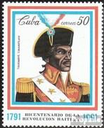 Cuba 3542 (complète.Edition.) Neuf Avec Gomme Originale 1991 Haitianische Revolution - Cuba