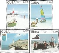 Cuba 3500-3503 (complète.Edition.) Neuf Avec Gomme Originale 1991 Tourisme - Cuba