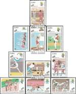Cuba 3476-3485 (complète.Edition.) Neuf Avec Gomme Originale 1991 Panaméricaine Jeux De Sport - Cuba