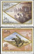 Cuba 3014-3015 (complète.Edition.) Neuf Avec Gomme Originale 1986 Jour Le Timbre - Cuba
