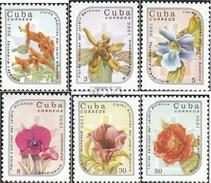 Cuba 2990-2995 (complète.Edition.) Neuf Avec Gomme Originale 1986 Exotiques Plantes - Kuba