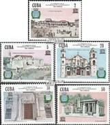 Cuba 2974-2978 (complète.Edition.) Neuf Avec Gomme Originale 1985 Ouvrages D'art Dans La Havane - Cuba