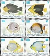 Cuba 2965-2970 (complète.Edition.) Neuf Avec Gomme Originale 1985 Aquariums - Cuba