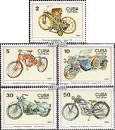 Cuba 2954-2958 (complète.Edition.) Neuf Avec Gomme Originale 1985 100 Années Moto - Ongebruikt