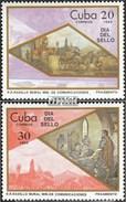 Cuba 2941-2942 (complète.Edition.) Neuf Avec Gomme Originale 1985 Jour Le Timbre - Cuba