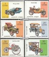 Cuba 2902-2907 (complète.Edition.) Neuf Avec Gomme Originale 1984 Voitures - Ongebruikt