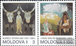 Moldawien 94-95 Couple (complete Issue) Unmounted Mint / Never Hinged 1993 Art - Moldova