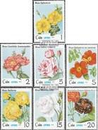 Cuba 2419-2425 (complète.Edition.) Neuf Avec Gomme Originale 1979 Roses - Nuovi