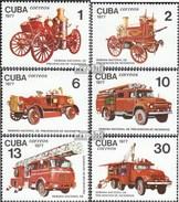 Cuba 2224-2229 (complète.Edition.) Neuf Avec Gomme Originale 1977 Semaine De Protection Contre Les Incendies - Ongebruikt