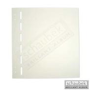 Schaubek BB600 Blank Sheets, Yellowish-white, Totally Blank 50 Sheets Per Pack - Sonstiges Zubehör
