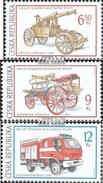République Tchèque 371-373 (complète.Edition.) Neuf Avec Gomme Originale 2003 Sapeurs-pompiers - Tchéquie