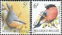 Belgique 2346x-2347x (complète.Edition.) Neuf Avec Gomme Originale 1988 Oiseaux - Belgio