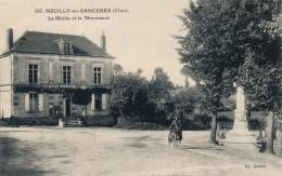 G147 - 18 - NEUILLY-EN-SANCERRE - Cher - La Mairie Et Le Monument - France
